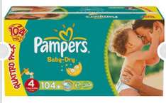 Couches Pampers taille 4 ou 5
