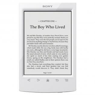 Ebook / Liseuse Sony PRS-T2  blanche (Après ODR de 30€)