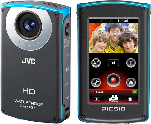 Camécope de poche étanche JVC GC-WP10 - Reconditionné