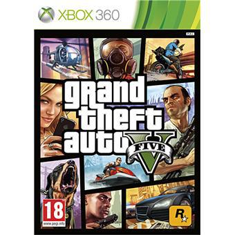 Grand Theft Auto V + Poster GTA 5 et DLC offert sur XBOX 360, PS3