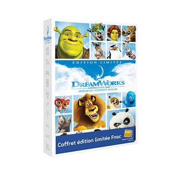Coffret DVD Dreamworks - Edition Spéciale Fnac Les 10 films