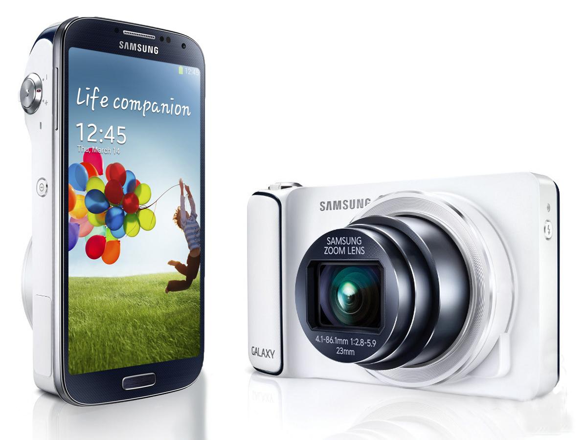 Smartphone Samsung Galaxy S4 Zoom + 100€ de bons d'achat (Avec ODR de 50€)