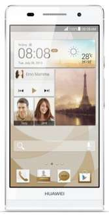 Smartphone Huawei Ascend P6 + Carte cadeau de 20€ (Avec ODR de 50€)