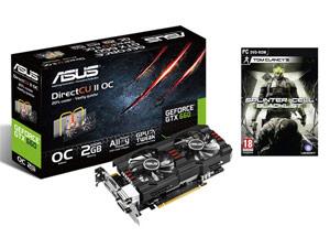 Carte Graphique Asus GeForce GTX 660 + Splinter Cell Blacklist