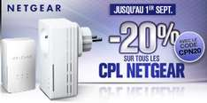 -20% sur tous les CPL Netgear