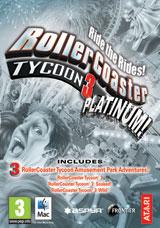 Rollercoaster Tycoon 3 edition Platinium - Clé steam