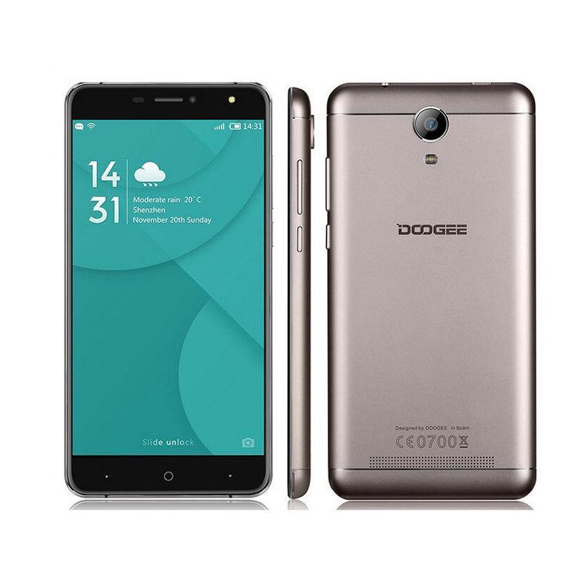 """Smartphone 6"""" Doogee X7 Pro - 4G LTE, HD, RAM 2 Go, ROM 16 Go (Noir/Argent/Or)"""