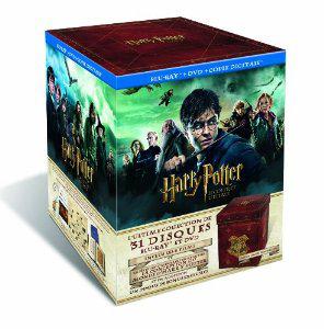 Harry Potter Le Coffret Ultime - Edition limitée et numérotée - L'intégrale 1 à 7 Partie B + Goodies - 13 DVD + 18 Blu-ray
