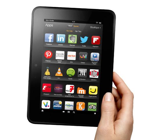 60€ de réduction sur les Kindles fire HD - Ex: Version 16Go avec pub