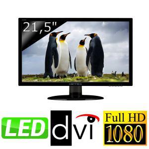 """Ecran PC 21.5"""" LED HANNS.G HE225DPB Full HD"""