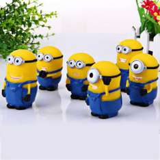 Lot de 6 figurines Minions de 7.6cm