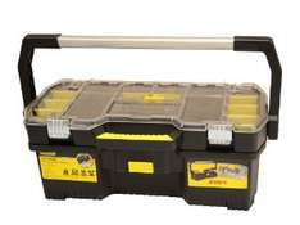 Stanley - Boîte à outils 60 cm avec organiseur transparent