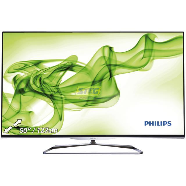 """Téléviseur 50"""" Philips 50PFL5008K Ambilight - Wifi + 2 paires de lunette 3D"""