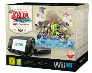 Console Wii U édition limitée « The Legend of Zelda : Wind Waker HD »