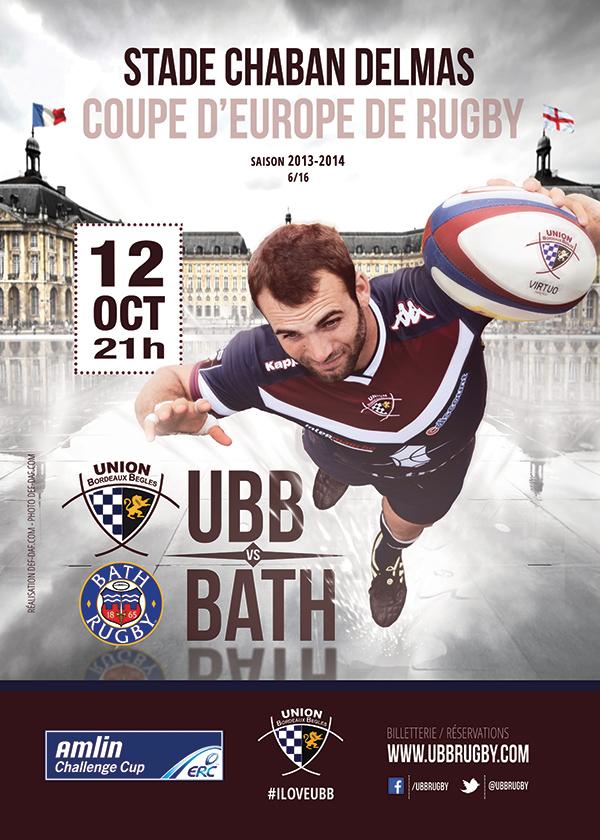 L'Union Bordeaux Bègles invite les femmes au match de rugby UBB vs Bath