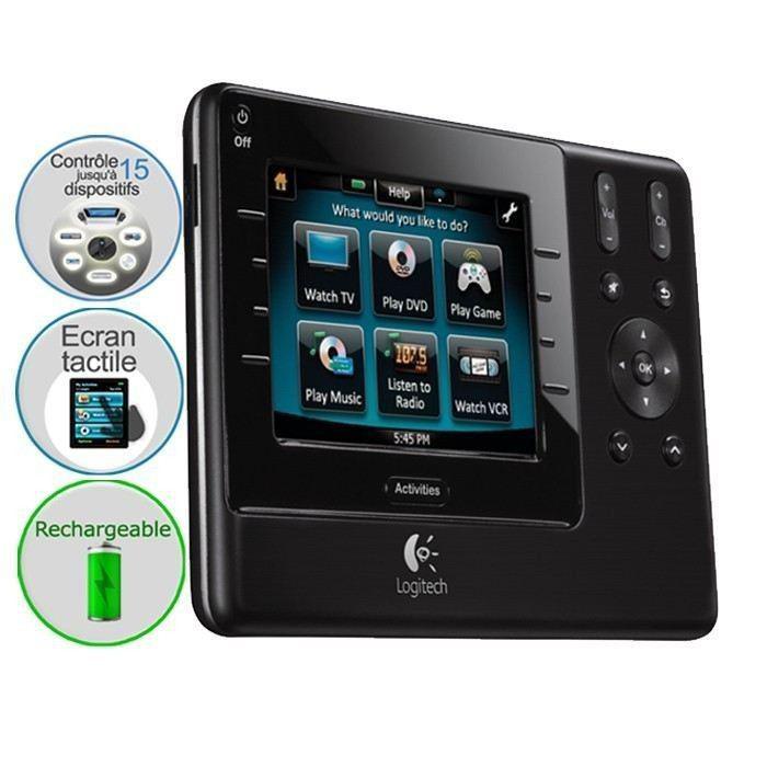 Offre adhérents : Télécommande Logitech Harmony 1100
