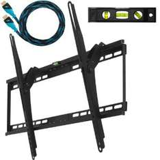 "Support mural Cheetah Mounts 32"" - 65"" + câble HDMI"