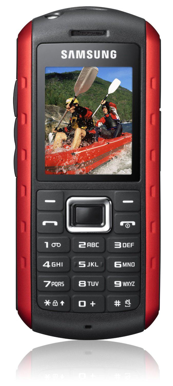 Téléphone portable Samsung GT-B2100 étanchéité 1m (IP57)