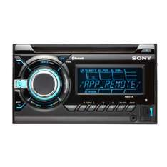 Autoradio Sony WX-GT90BT - 2 DIN Bluetooth (avec ODR 50€) + 10€ offert en bon d'achat