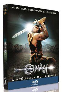 Conan le barbare + Conan le destructeur - Edition limitée boitier métal [Blu-ray]