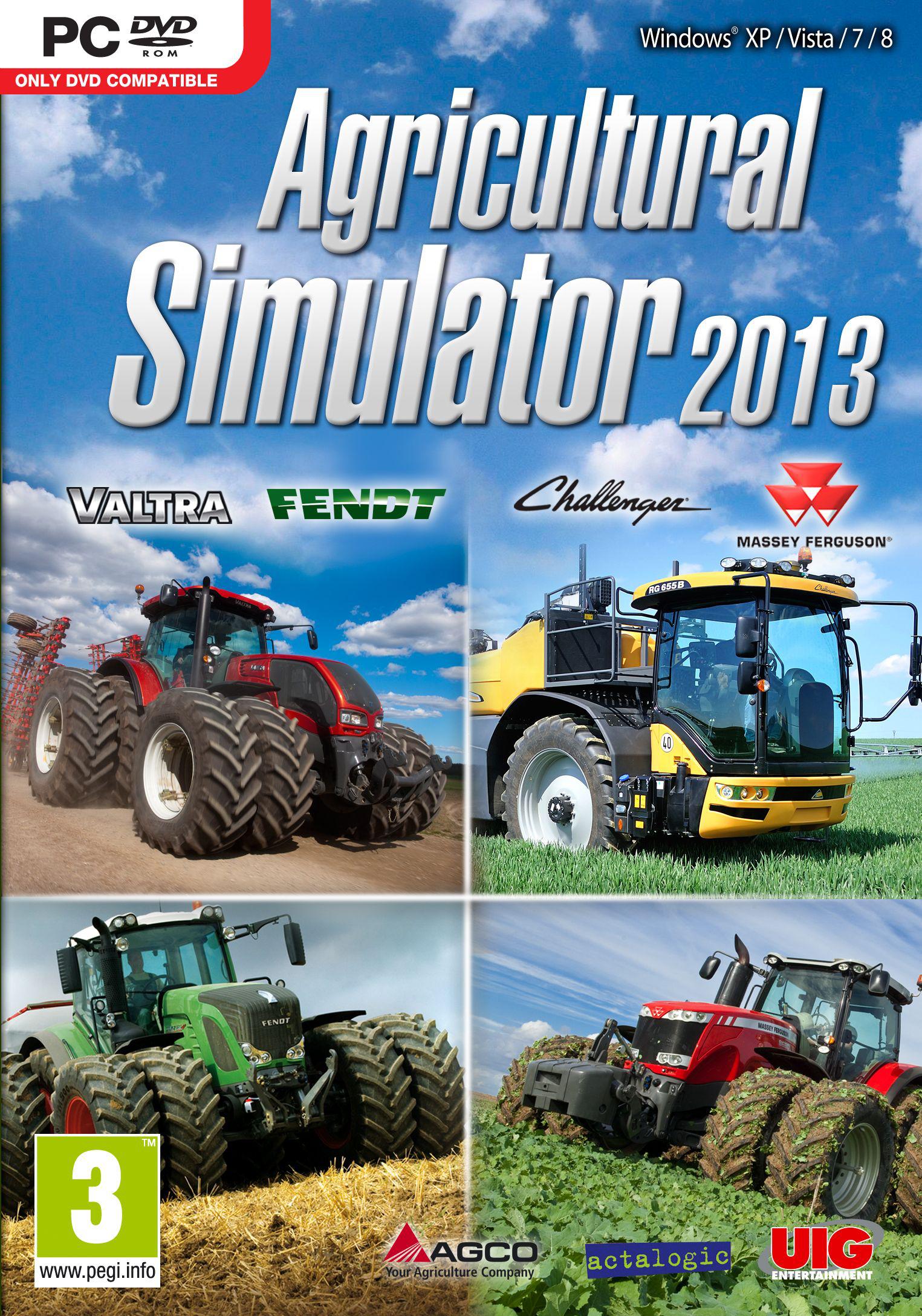 Jusqu'à -80% sur les jeux Simulators (Dématérialisé) - Ex: Agricultural simulator 2013