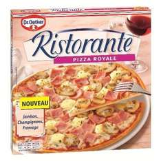2 pizzas royale ristorante gratuites + gain possible de 1,26€