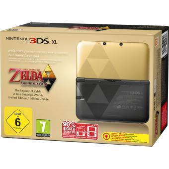 Console Nintendo 3DS XL Zelda (+20€ de chèque cadeau pour les adhérents)
