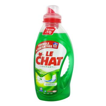 Gros arrivage de lessives dont Le Chat Expert 1,2L (16 lavages)