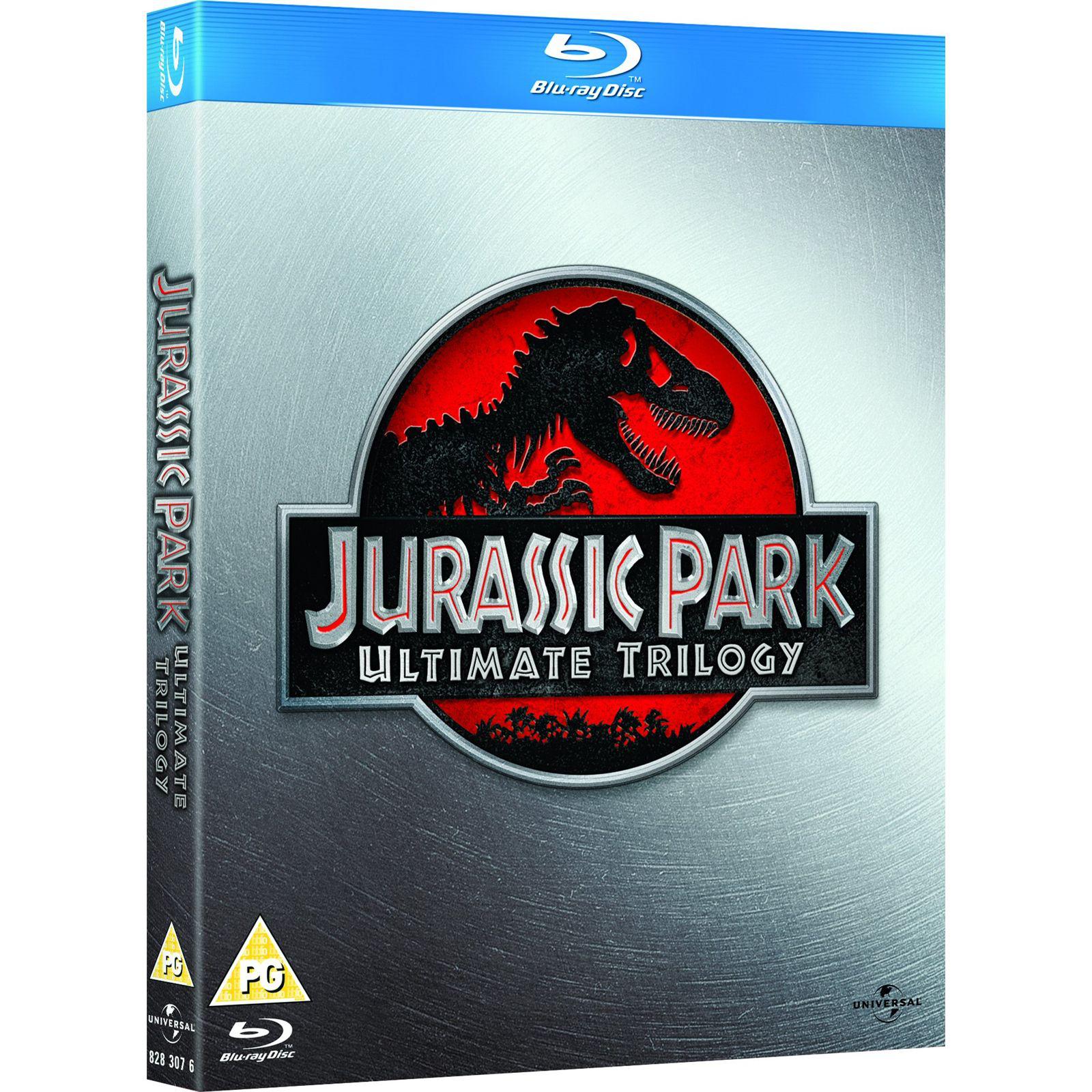 Coffret Blu-ray Jurassic Park Trilogie