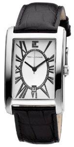 Montre homme Ted Lapidus 5115202 Bracelet Cuir Noir