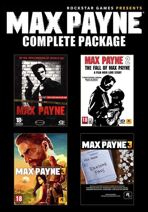 Max Payne Complete Package sur PC (Dématérialisé)