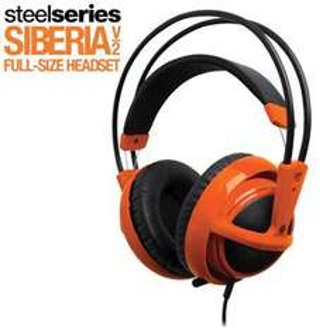 Casque Gaming Steelseries Siberia V2 Orange