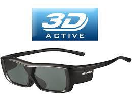 Paire de lunettes 3D Active Sharp AN3DG20B