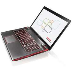 "PC Portable 17.3"" Toshiba Qosmio X870-16E Full HD - i5-3230M - 16Go RAM - 1To + 8Go SSD - GeForce GTX 670M 3Go - Win 8"