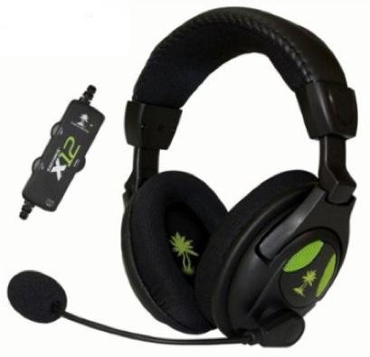 Micro-casque stéréo amplifié pour Xbox 360/PC/Mac - Ear Force X12 Turtle Beach