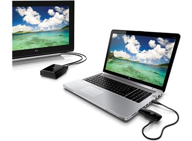 Kit de connexion TV sans fil pour PC, Consoles... HP Wireless TV Connect