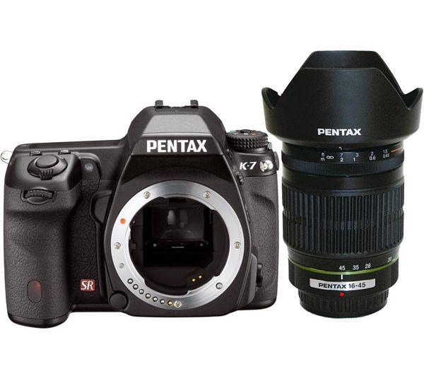 Reflex Pentax K-7 + Objectif zoom DA 16-45 mm