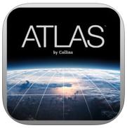 Atlas de Collins Gratuit sur iOS