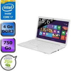 """PC Portable 15.6"""" Toshiba Satellite L50-A-1DG - Core i7 Haswell, Geforce 740m (avec ODR 100€)"""