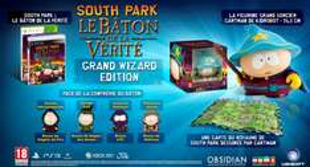 [Précommande]  South Park : Le Bâton de la Vérité - Édition Grand Sorcier sur Xbox 360 et PS3