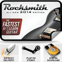 Rocksmith 2014 sur PC (Steam - Dématérialisé)