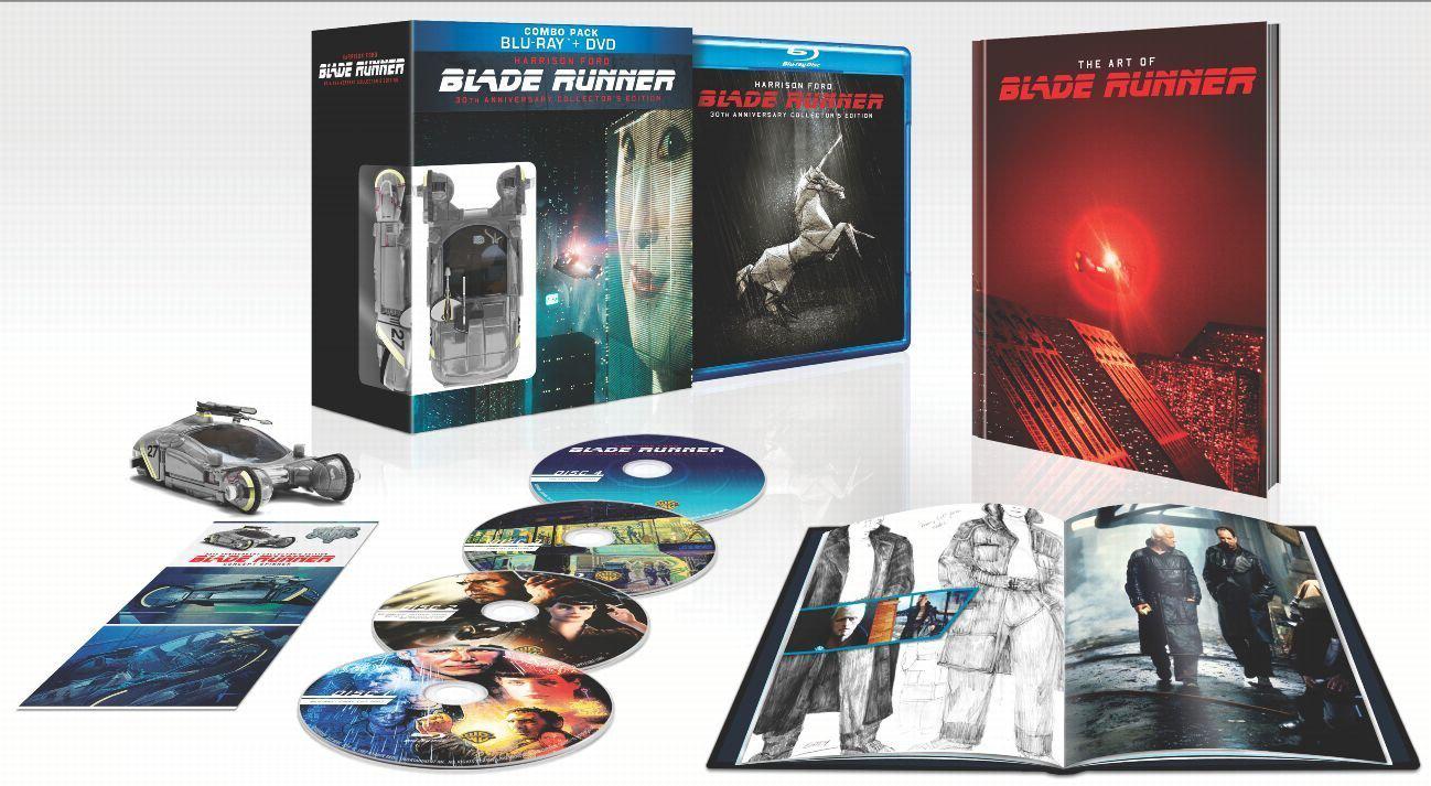 Coffret Blu-ray Collector Blade Runner 30ème Anniversaire (Avec figurine)