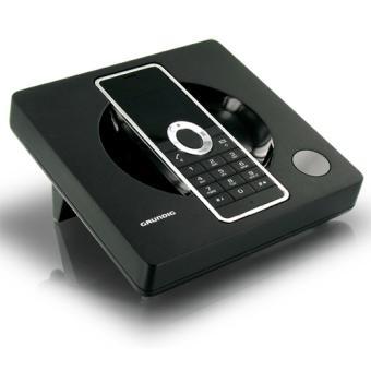 Téléphone fixe sans fil DECT/GAP Grundig Scenos, Solo, Noir