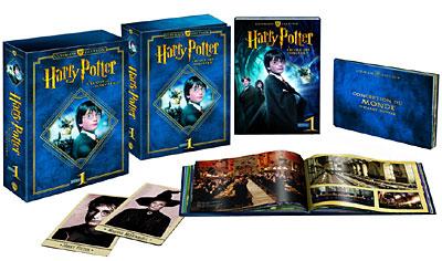 Harry Potter à l'école des Sorciers Blu-Ray (Edition Ultimate avec livre de 40 pages, cartes lenticulaires, photos)