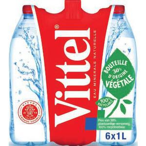 Pack d'eau Vittel 6x1L Gratuit
