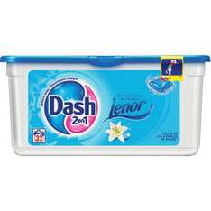 Dash Ecodoses Fleurs de lys 2 en 1 (32 doses)