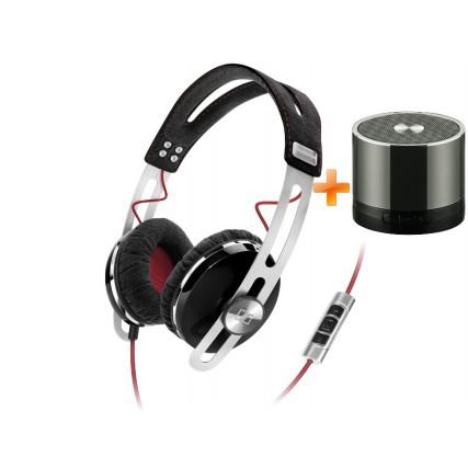 Casque Sennheiser Momentum On-Ear - 7 coloris au choix + enceinte sans fil Connect Research (avec code promo)