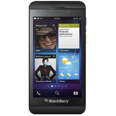 "Smartphone 4.2"" Blackberry Z10 16 Go Noir"
