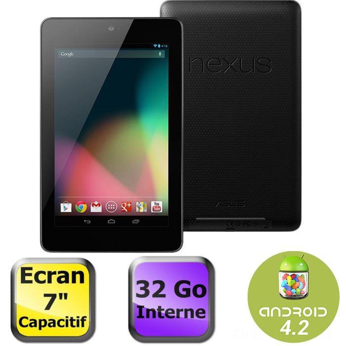 "Tablette 7"" Google Nexus 7 32 Go (2012)"