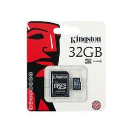Carte Micro SDHC Kingston 32 Go Classe 4 + Adaptateur